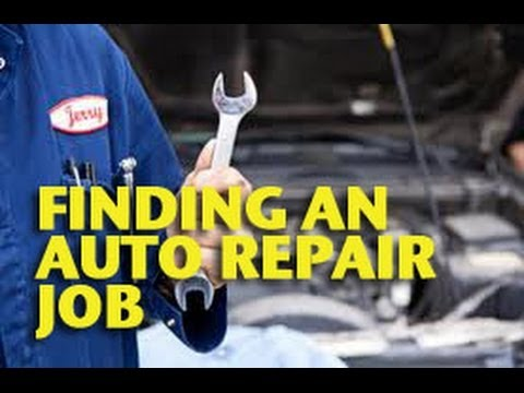 Finding an Auto Repair Job -ETCG1