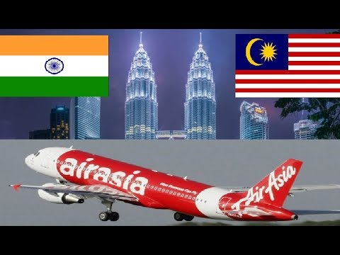 India to Malaysia in Rs.2700 ( $42 ) | Everything you need to Know | AirAsia Review