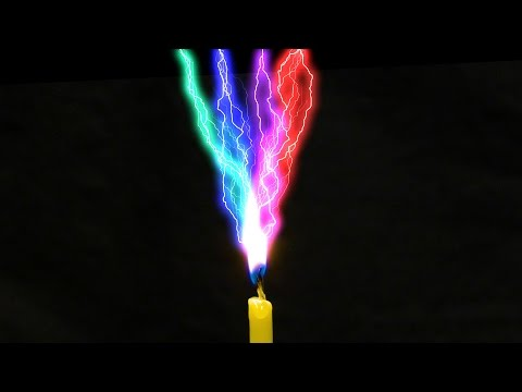Amazing Scientific Experiments With Electricity Water and Fire!