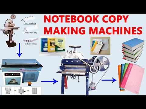 NOTEBOOK COPY MAKING MACHINES 09814312452