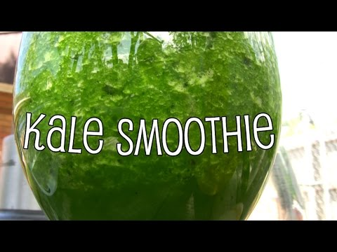 Make Your Own Kale Smoothie with The Backyard Blendologist