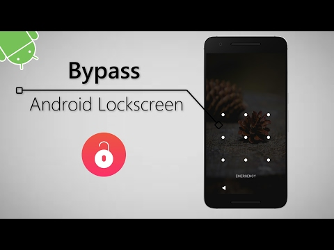 Bypass Android Lockscreen Without Loosing Your Data