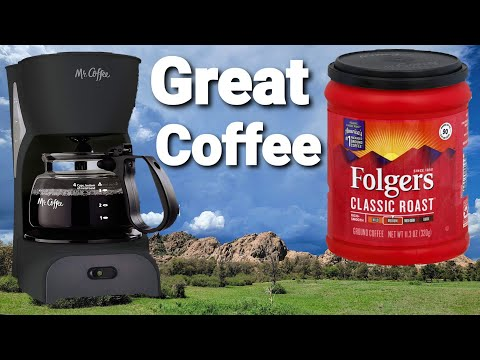 Mr Coffee: How to make Folger's coffee