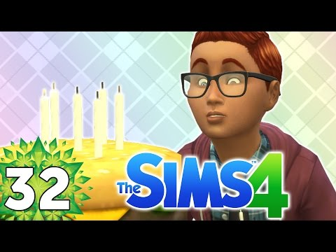 Let's Play The Sims 4 - Part 32 - Birthday Party!