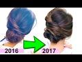 """★ TOP 3  """"EASY  ELEGANT BUN"""" HAIRSTYLES of 2017 💜   Romantic UPDO Hairstyles"""
