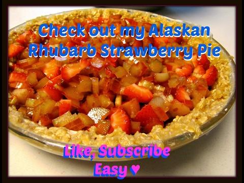 Rhubarb Strawberry Pie|Moms Secret Recipe