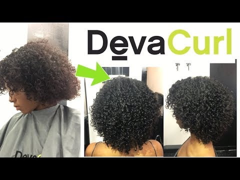 Me and My Sisters First Deva Cut Experience !   TWO CURLY HAIRCUTS