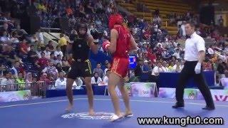 #x202b;أفضل لقطات في بطولة العالم في الووشو كونغ فو 2015 (اليوم الثاني)#x202c;lrm;