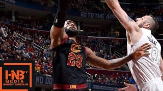 Cleveland Cavaliers vs Washington Wizards Full Game Highlights / April 5 / 2017-18 NBA Season
