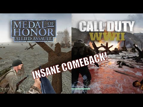 Medal Of Honor Allied Assault vs Call of Duty WWII - 15 Years INSANE COMEBACK !