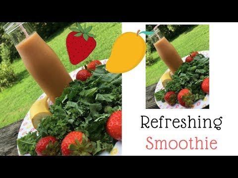 Refreshing Healty Fruit Smoothie Ramadan Recipes 2018 VAVA Blender 
