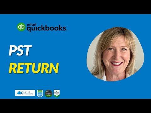 PST in BC - Completing and filing your PST return using QuickBooks Online