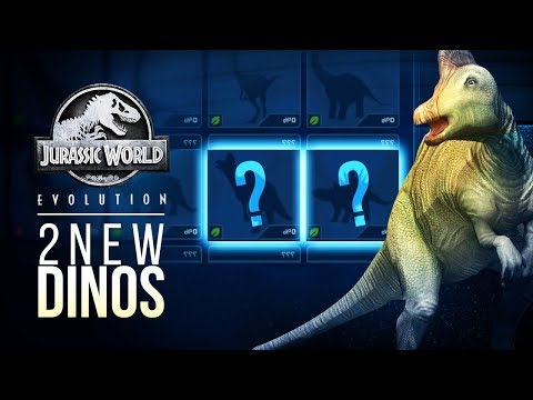 WHAT ARE THE 2 NEW DINOSAURS? | Jurassic World: Evolution New Dinosaur Species