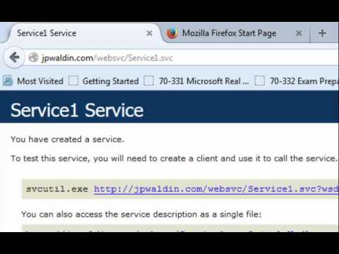 Create and Consume a Web Service