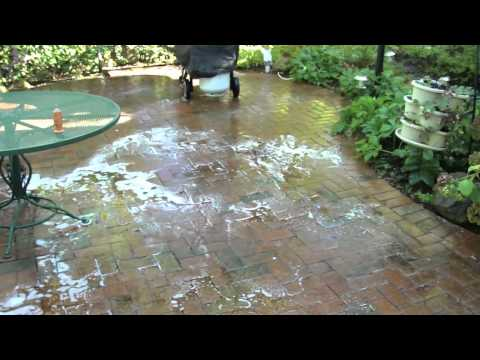 The Dragon's Tail, concrete and brick paver power washing