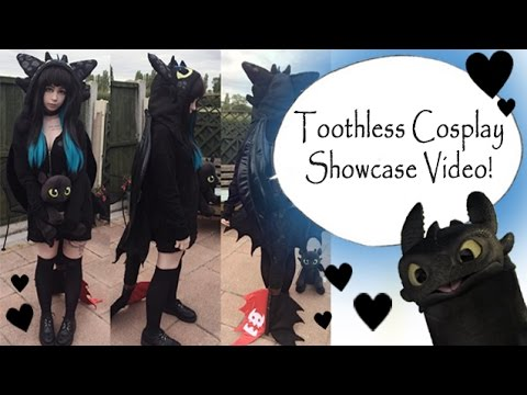Toothless Cosplay Showcase video!