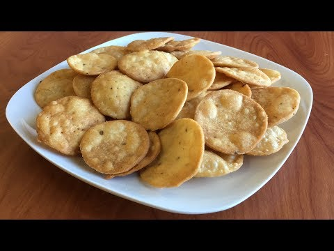 How to make Papdi   Papdi for Chaats   Indian Street Food