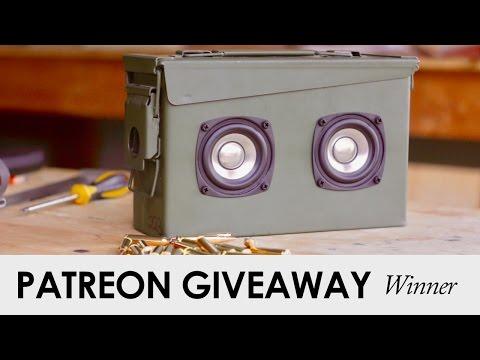 February Patreon Giveaway Winner!