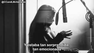 Camila Cabello en un podcast. (Español)