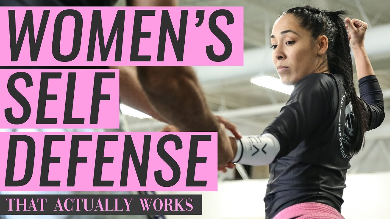 Women's Self-defense That Actually Works! (Gracie Jiu-Jitsu)