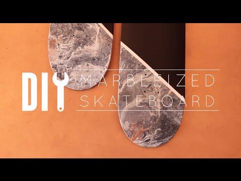 DIY Marble Skateboards