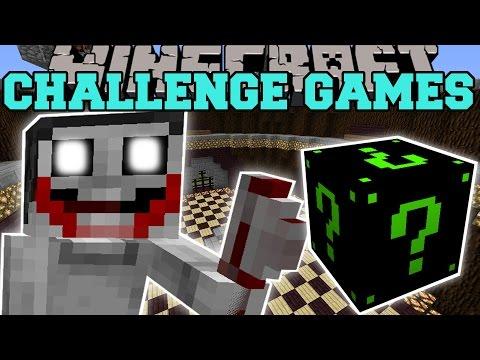 Minecraft: JEFF THE KILLER CHALLENGE GAMES - Lucky Block Mod - Modded Mini-Game