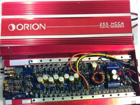 Orion 250 HCCA Cheater Amp Bench Test Power Output DD-1