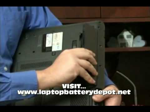 How To Remove and Replace Your Laptop Battery Tutorial :: LaptopBatteryDepot.net