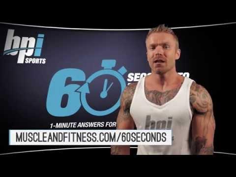Deadlift on Back Day vs Deadlift on Leg Day? - 60 Seconds to Fit - BPI Sports