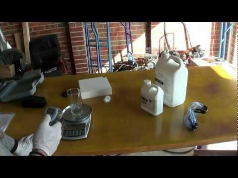 Polystyrene foam in epoxy resin - heat & chemical reaction test