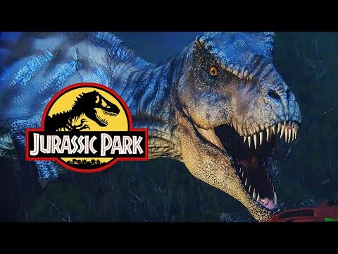 REXY BREAKS OUT! LIVE THE JURASSIC PARK SCENE | T-Rex Breakout Gameplay (Free Dinosaur Game)