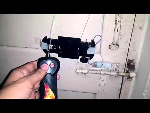 RC DOOR LOCK( EASY HOMEMADE!!  )