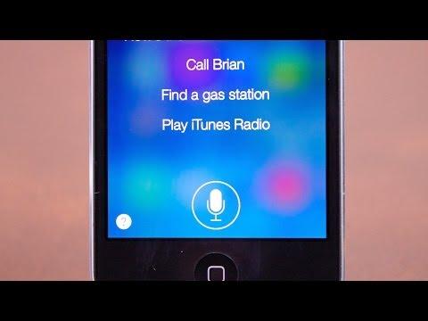 iOS 7.1: Siri Improvements
