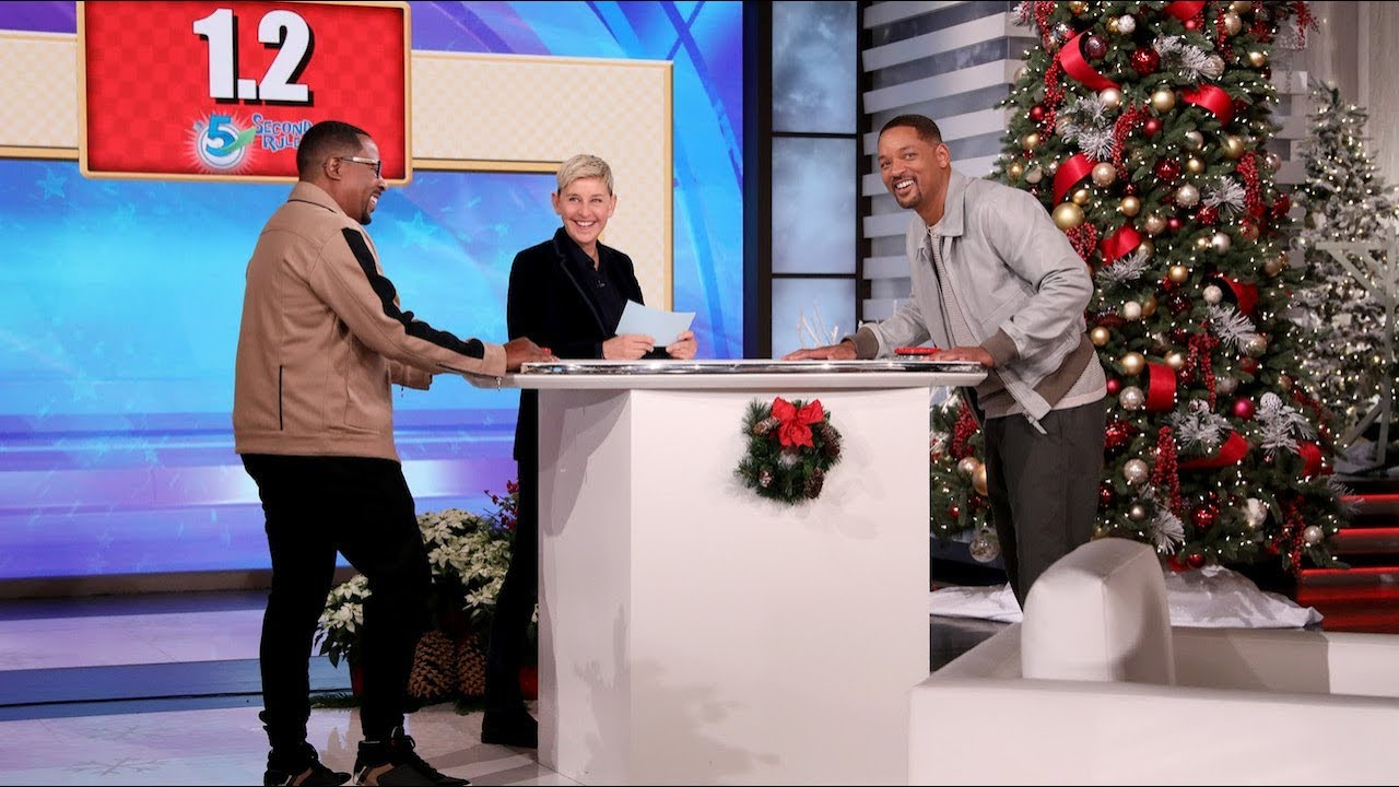 Will Smith & Martin Lawrence Play '5 Second Rule'