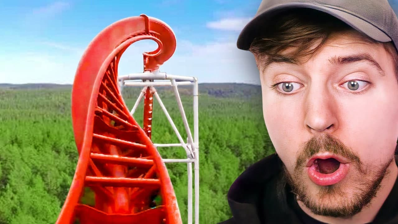 World's Most Insane Roller Coaster!
