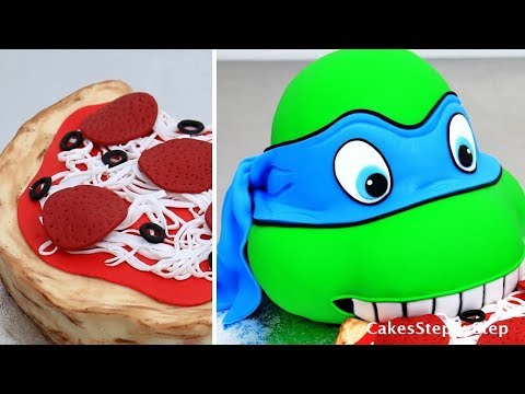 How To Make a NINJA TURTLE Cake | Kids Birthday Cake Idea by Cakes StepbyStep