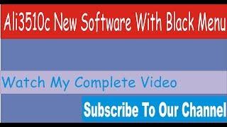 ali-3510c 1 year free cccam server software || HW 102 02 999