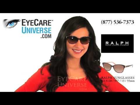 Detallada demostración de las Gafas de sol Ralph Lauren, modelo RA5128 en color Havana