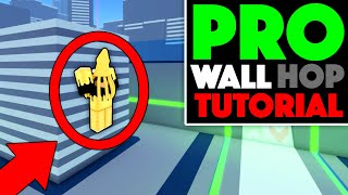 How to WALL HOP like a PRO (ROBLOX)