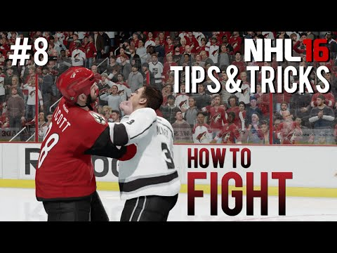 NHL 16: Tips & Tricks #8 - How To Fight