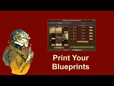FoEhints: Print your Blueprints in Forge of Empires