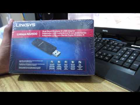 How to install an external wireless USB adapter in Kali