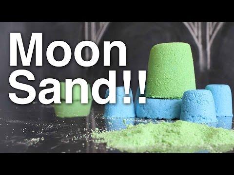 DIY Moon Sand!!