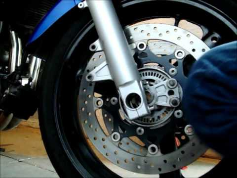 Tyre valve problem, wheel removal and fitting