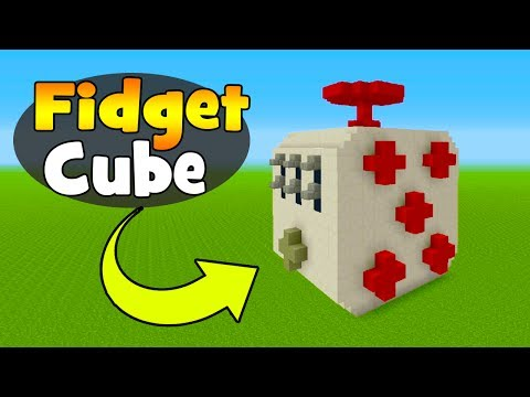 Minecraft Tutorial: How To Make A Fidget Cube House