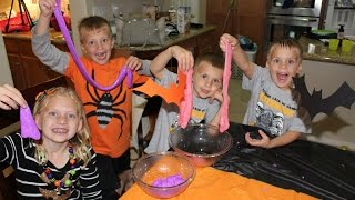 24 Jam Dengan 5 Anak di Halloween