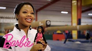 Introducing The Gabby Douglas Barbie Doll Barbie