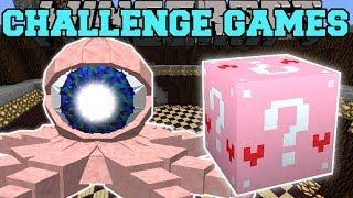 Minecraft: EYEBALL OCTOPUS CHALLENGE GAMES - Lucky Block Mod - Modded Mini-Game