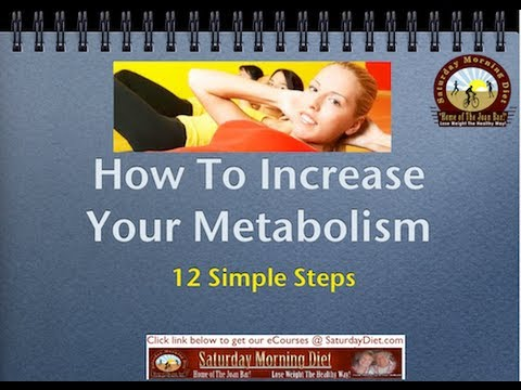 How To Increase Your Metabolism on the Saturday Morning Diet