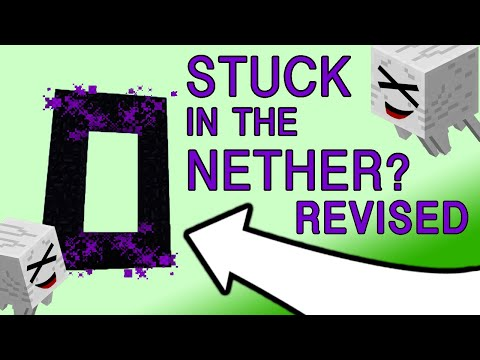 Revised - Stuck in the Nether? How To Get Out Without a Flint & Steel
